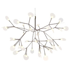 modern chandeliers by Haute Living