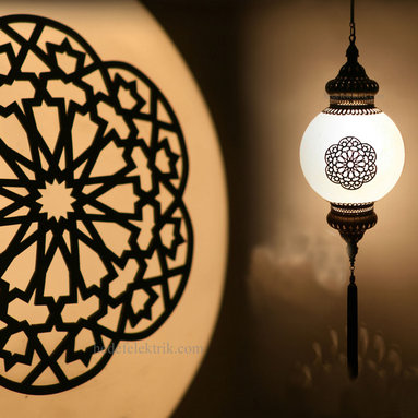 Turkish Style Laser Cut Ottoman Lighting -