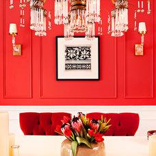 Contemporary Dining Room by Elizabeth Metcalfe Interiors & Design Inc.
