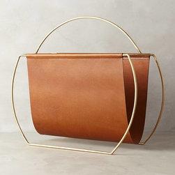 Saddle Ring Desk Collection, Magazine Rack -