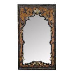 Uttermost - Uttermost - Imperiali Mirror In Distressed Black - 05034 - Imperiali Collection Mirror