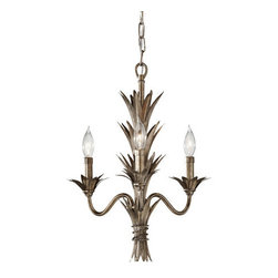 Murray Feiss - Murray Feiss F2685/3 Flora 3 Light 1 Tier Mini Chandelier - Features: