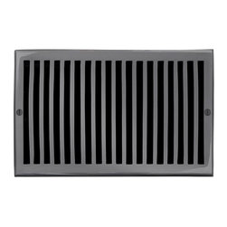 """Brass Elegans 116G DBZ Brass Decorative Air Return Vent Cover - Contemporary - D - This dark bronze finish solid brass air return vent cover with a contemporary design fits 6"""" x 10"""" duct openings and adds the perfect accent to your home decor."""