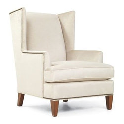 Kalinda's Chair - Great chair for an office or reading corner. The clean lines can fit into a masculine or feminine space.