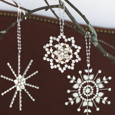 Modern Christmas Ornaments by Garnet Hill