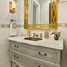 Traditional Powder Room by Astleford Interiors, Inc.