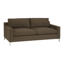 Lazar Industries - Soho 2-Seater Sofa in Random Mink - Soho 2-Seater Sofa:  Lazar's most popular and customizable stlye, the Soho offers modern luxury in a compact package.