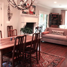 Traditional Dining Room by Lucy and Company