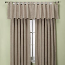 Zorlu Usa Inc. - Union Square Tab Top Window Panel - These textured window treatments with a waffle weave design add dimension to your windows and offer a modern look with classic appeal to your decor. The woven fabric drapes beautifully and feels great as well.
