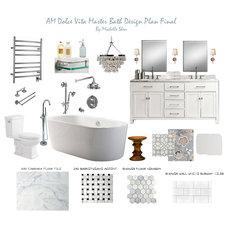 Contemporary Bathroom by AM Dolce Vita