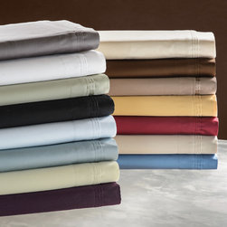 None - Egyptian Cotton 650 Thread Count Split King Sheet Set - Feel true luxury when you sleep on this 650-thread-count split king sheet set,which includes sheets and pillowcases made from soft 100 percent Egyptian cotton. The set comes in a wide variety of colors to best match your bedroom decor.