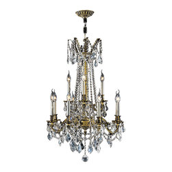 "Worldwide Lighting - Windsor 12 Light Antique Bronze Finish & Crystal Chandelier Cast Brass 24"" x 36"" - This stunning 12-light Cast Brass Chandelier only uses the best quality material and workmanship ensuring a beautiful heirloom quality piece. Featuring a solid cast brass frame in antique bronze finish and all over clear crystal embellishments made of finely cut premium grade 30% full lead clear crystals, this chandelier will give any room sparkle and glamour. Worldwide Lighting Corporation is a privately owned manufacturer of high quality crystal chandeliers, pendants, surface mounts, sconces and custom decorative lighting products for the residential, hospitality and commercial building markets. Our high quality crystals meet all standards of perfection, possessing lead oxide of 30% that is above industry standards and can be seen in prestigious homes, hotels, restaurants, casinos, and churches across the country. Our mission is to enhance your lighting needs with exceptional quality fixtures at a reasonable price."