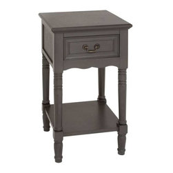 Benzara - Brighton Exclusive Smart Wood Night Stand - Brighton Exclusive Smart Wood Night Stand. Brighton Night stand is smart and classy to add one to your interiors. Some assembly may be required.