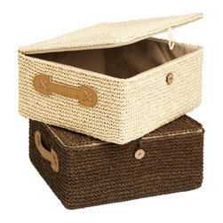 Crochet Box - I need one of these crocheted baskets for storing all the woolen knitting yarns I'm not going to use during the warm summer months.