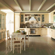 Traditional Kitchen Cabinets by Italian Kitchen and Bath