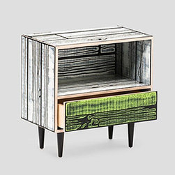 Established & Sons - WrongWoods Night Table | Established & Sons - Design by Richard Woods and Sebastian Wrong, 2007.