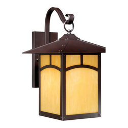 Vaxcel Lighting - Vaxcel Lighting TL-OWD110 Taliesin 1 Light Outdoor Wall Sconce - Features: