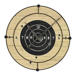 Sterling Industries - Sterling Industries 26-8673 Target Practice Wall Clock - Clock (1)