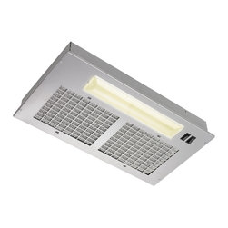 Broan - Broan 250 CFM 20.5-inch Custom Power Pack For Custom Range Hood - The Broan 250 CFM 20.5-inch wide custom Power Pack features a two-speed motor with rocker controls provides 250 CFM of exhaust at 8.0 Sones. It features a washable aluminium mesh filter so you can maintain optimum grease caputre in your kitchen.