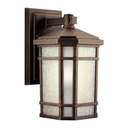 Joshua Marshal - One Light Prairie Rock Wall Lantern - One Light Prairie Rock Wall Lantern