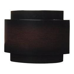 Teiber - Teiber Designer Contemporary Mahogany Door Bell / Chime X-MD-2091HC - Contemporary curve w/;dark mahogany finish