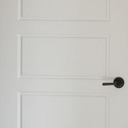 Contemporary Interior Doors - 5-panel - Solid wood Poplar door