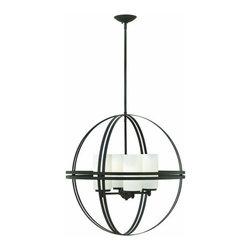"""Hinkley Lighting - Hinkley Lighting 3275 Atrium 26.75"""" Height 4 Light 1 Tier Globe Chandelier - 26.75"""" Height Four Light Single Tier Globe Chandelier from the Atrium CollectionFeatures:"""