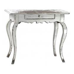 Hollywood Regency Silver Colton Sidetable - Hollywood Regency Silver Colton Sidetable