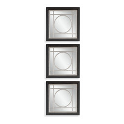 Bassett Mirror - Bassett Mirror Gemini Wall Mirror (Set of 3) - Gemini Wall Mirror, Set of 3