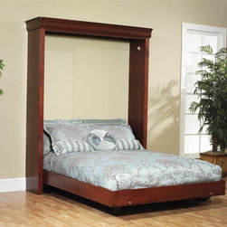 Amish Murphy Wall Bed - Dutchcrafters offer a variety of Amish wall beds for your home or apartments.  Murphy beds are perfect for smaller apartments where space is limited.  Choose from a twin, full or queen size bed.
