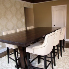 Traditional Dining Room by Rustic Elements Furniture
