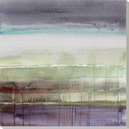 Artcom - Purple Rain I by Lanie Loreth - Purple Rain I by Lanie Loreth is a Stretched Canvas Print.