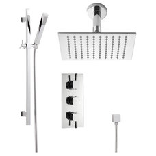 Contemporary Showerheads And Body Sprays by Hudson Reed