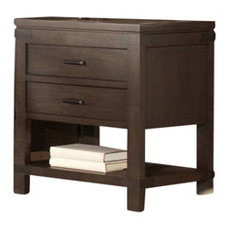 Riverside Furniture - Riverside Furniture Promenade 2 Drawer Nightstand in Warm Cocoa - Riverside Furniture - Nightstands - 84569 - Riverside's products are designed and constructed for use in the home and are generally not intended for rental, commercial, institutional or other applications not considered to be household usage.