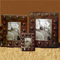 Mission Style Frames - Looking for an elegant way to display photographs? The Mission Style Frame is an excellent solution that will enhance your home décor while displaying photographs of your loved ones and friends. Stylized rivets offer outstanding craftsmanship and design. The frames comes in several sizes for you to choose from. Choose 2x3, 4x6, or 5x7 when ordering. Similar in style to the Mission Style Vanity Trays.