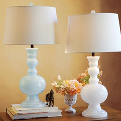 traditional table lamps by Pottery Barn