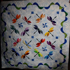 Quilts And Quilt Sets dragonfly quilt