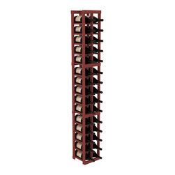 Wine Racks America - 2 Column Magnum/Champagne Cellar Kit in Pine, Cherry - If you're going to live large, you're going to accumulate some pretty big bottles. Fortunately, this magnum wine is brilliantly designed for flexibility and durability, so pop the cork and order another case!