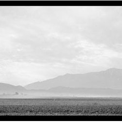 Buyenlarge - Dust Storm over the Manzanar Relocation Camp 12x18 Giclee on canvas - Series: Classic Photography