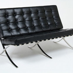 Mies van der Rohe: Exhibition Loveseat