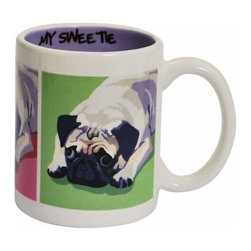WL - 3.75 Inch My Sweetie Pug Puppy Collectible Ceramic Coffee Mug - This gorgeous 3.75 Inch My Sweetie Pug Puppy Collectible Ceramic Coffee Mug has the finest details and highest quality you will find anywhere! 3.75 Inch My Sweetie Pug Puppy Collectible Ceramic Coffee Mug is truly remarkable.