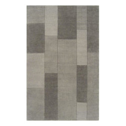 Surya - Bristol Mossy Stone Rectangular Area Rug - This versatile Bristol Mossy Stone Rectangular Area Rug boasts updated, fresh color and elegant design. Loomed in India from 100 % Wool, the rug is extremely durable and warm. This amazing rug deally suits for active, informal lifestyles of today. Enjoy the quality and style of the Bristol contemporary rugs.