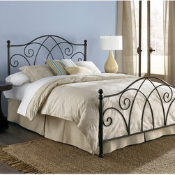 Leggett & Platt - Deland Bed Multicolor - RN1135 - Shop for Headboards and Footboards from Hayneedle.com! The Deland Bed uses traditional wrought iron to dress up your master bedroom. This headboard has a classic shape made of durable wrought iron finished in brown sparkle. Matching footboard rails and frame sold separately. About Fashion Bed GroupFashion Bed Group is a Leggett and Platt Company known for its innovative fashion beds daybeds futons bunk beds bed frames and bedding support. Created in 1991 Fashion Bed Group is a large consolidation of three leading bed manufacturers. Its beds are manufactured of genuine brass plated brass cast zinc cast aluminum steel iron wood wicker and rattan. Fashion Bed Group's products are distributed throughout North America from warehouses located in Chicago Los Angeles Houston Toronto and Ennis Texas.
