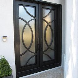 Iron Doors - Exterior - Double Iron Doors