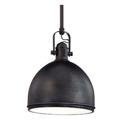 Hudson Valley Lighting - Hudson Valley Lighting Marion Transitional Pendant Light X-BO-8008 - This industrial-inspired Transitional Pendant Light by Hudson Valley Lighting surprises with its distinguished design details. The unusual light fixture shade provides direct and indirect light at the same time. The high quality shiny Chrome finish adjusts to any modern and contemporary design interior.