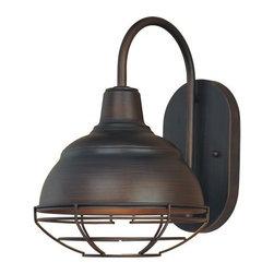 Millennium Lighting - Millennium Lighting 5321 Neo-Industrial 1 Light Indoor Wall Sconce - Features: