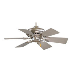 Minka Aire - Supra 32 inch Ceiling Fan - Supra 32 inch ceiling Fan features White finish with White blades, Oil Rubbed Bronze finish with Maple Blades, Brushed Steel finish with Silver Blades and Brushed Steel with Walnut blades. Supra has a 153mm x 16mm motor, 32 inch blade span, and a 22 degree blade pitch. Three speed pull chain included. Manual reverse switch is located on the motor. One 3.5 inch and one 6 inch down rods are included. UL listed. 32 inch width x 13 inch height.