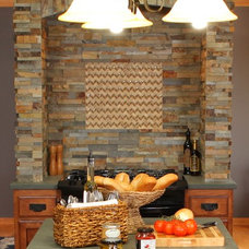 Eclectic Kitchen Countertops by Kelli Kaufer Designs
