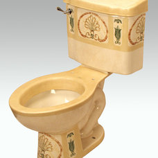 mediterranean toilets by Atlantis Porcelain Art Corp