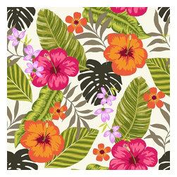 Design Your Wall - Tropical Fiesta - Wallpaper Tiles - Featured Designs by Astek Inc